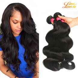 Wholesale Top Quality Virgin Hair - Top Selling High Quality Cheap Virgin Brazilian Hair Brazilian Hair Body Weaves 4Bundles 100g pcs Unprocessed Human Body Wave Free Shipping