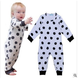 Wholesale Baby Boy Romper Free Dhl - Boy Romper Long Sleeve Kids Clothes Baby Rompers Baby Girl Clothing Jumpsuit Toddler Iinfant Clothing DHL Free Shipping