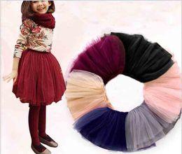 Wholesale Tutu Tulle Skirt Dance - For All Weather Toddler Girl Baby Girls 9 Colors TUTU Skirts Kids Girls Princess Dance Party Tulle Skirt
