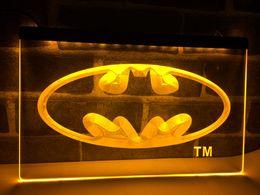 Wholesale Hero Blue - LC001- Batman Hero Man Cave LED Neon Light Sign