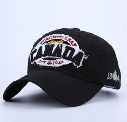 Wholesale Hats Wholesalers Canada - Cotton Baseball Cap Men Snapback Casquette Golf Caps Hats For Men Women Sun Hat Bone Canada Gorras Fashion Brand