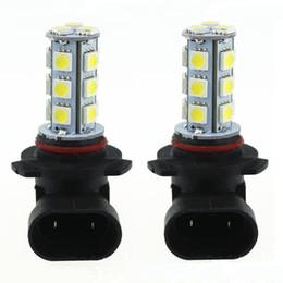 Wholesale Led Driving Bulbs - 3w DC12V White 9005 9006 H8 H11 18SMD 5050 Car LED Bulb Fog Driving 2pcs JTCL063-ly