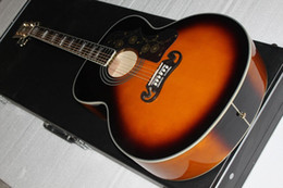 Wholesale Acoustic Jumbo - Wholesale- free shipping G- J200 Super Jumbo Standard Acoustic-Electric Guitar