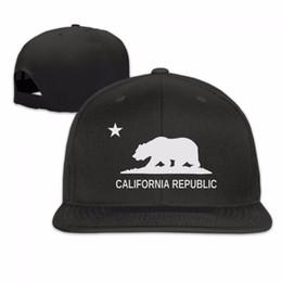 Wholesale California Fashion Men - Wholesale- sale High quality men Women California Republic fashion Cali snapback bone Hat Cap Baseball hat