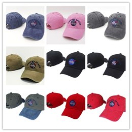 Wholesale Gold Meat - New 11 color Fashion rare I NEED MY SPACE NASA Meat Ball 6 god Embroidered Cotton dad hat snapback Baseball cap i feel like pablo casquette