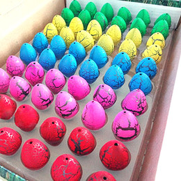 bprice-bprice prices - Wholesale-60pcs lot Magic Water Hatching Inflation Growing Dinosaur Eggs Toy For Kids Gift Child Educational Novelty Gag Toys