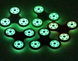 Wholesale Cheap Glowing Toys - Glow in The Dark Fidget Spinner New Arrival Hand Spinner Cheap Finger Gyro Football Newest Spinning Top Beyblade Toys Finger Toys