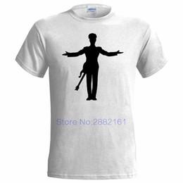 f6ca0a7198b PRINCE INSPIRED SILHOUETTE MENS T SHIRT SYMBOL ROCK POP BAND ARTIST SINGER Round  Collar Short Sleeve Tee Shirts