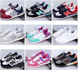 Wholesale Toe Sneakers For Men - New 2017 arrival Balance casual sport shoes for men women Sneaker Lovers shoes Jogging shoes size 35-44