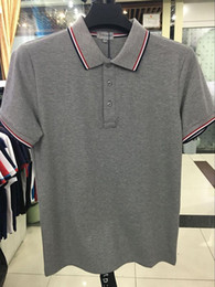Wholesale Mens Brand Polo Shirt - M1522 Luxury Mens Mon polo Brand British t shirt Summer short sleeve tshirt marque luxe homme Franch men Costume Clothing m-xxl size