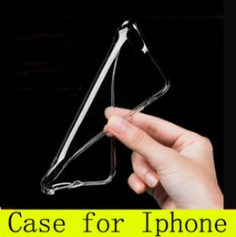 Wholesale Tpu Gel - For Iphone 7 Case Samsung Note 7 S7 Iphone 6s Crystal Gel Case for iPhone 6s Plus Ultra-Thin transparent Soft TPU Cases Note 5 Clear Cases