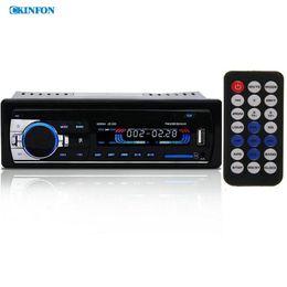 Wholesale Subwoofer 12v - DHL Fedex JSD-520 12V Bluetooth Car Stereo FM Radio MP3 Audio Player 5V Charger USB SD AUX APE FLAC Subwoofer In-Dash 1 DIN