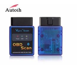 Escáner vgate obd online-Vgate ELM327 Bluetooth OBD Scan, herramienta de exploración OBD avanzada escáner de diagnóstico para el automóvil como herramientas de diagnóstico del coche caben coches OBDII
