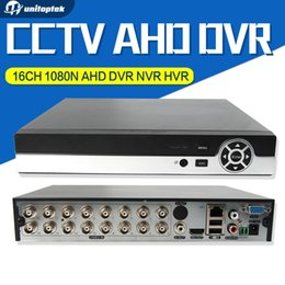 Wholesale 16ch Security Cctv - 16CH 1080N CCTV AHD DVR Hybrid NVR 8Ch 1080P 5MP NVR Cloud For Analog AHD IP Security Camera Onvif