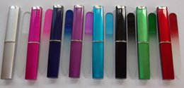 Wholesale Nail File Hard Case - Wholesale- Crystal glass nail file ideal for handbag hard case