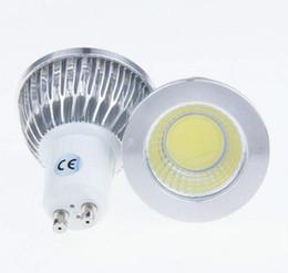 Wholesale 5w Led Gu - COB GU10 LED Light Dimmable 5W Lamp GU 10 Spotlight Warm White Bulb Energy Saving CE RoHS Best Quality