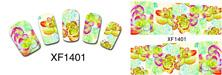 Wholesale Nail Art Cartoon Stickers - Lovely pink cute cartoon environmental nail stickers Non-toxic nail stickers Pregnant women can use nail stickers all decals art