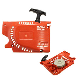Wholesale Chainsaw Starter - Wholesale- New Recoil Pull Start Starter For Chinese Chainsaw 4500 5200 5800 45cc 52cc 58cc
