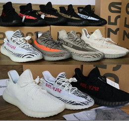 Wholesale Floor Cut - 2017 Boost 350 Sply V2 CP9366 Kanye west Boosts v2 Sneakers Beluga 2.0 Men Women Running Shoes size 5 to 11