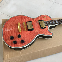 Wholesale Red Chinese String Lights - New Chinese good guitar custom shop guitar custom Electric Guitars ,light red ,beautiful,can be a lot of custom,Like photos