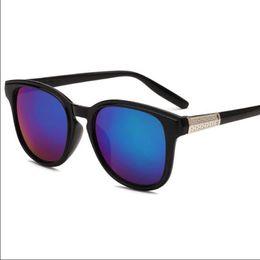 Wholesale New Fashion Coats For Women - sun glasses Casual Sunglasses for women men vintage UV400 PC plastic Retro Fashion Accessories new Unisex light Coating wholesale 1 piece