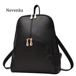 Wholesale Name Brand Backpack - Women Backpack Leather Backpacks Softback Bags Brand Name Bag Preppy Style Bag Casual Backpacks Teenagers Backpack Sac