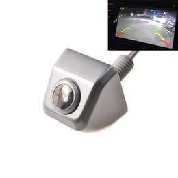 Wholesale reverse camera ford - HD CCD Universal Car Rear View Camera Car Reversing Backup Parking Camera Wide angle Car Camera Free Shipping