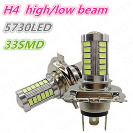 Wholesale Smd Led For Car - H4 LED Fog light 33 SMD 5730 H9 H10 H11 33SMD 5730 for car auto fog light Bub Lamp