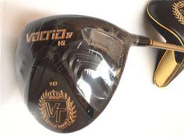 "Wholesale Katana Driver Golf - Katana Voltio IV Hi Driver BlACK Katana Voltio Golf Driver Golf Clubs 9"" 10"" R S-Flex Graphite Shaft EMS Free Shipping"
