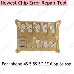 Wholesale Eeprom Read Write - EEPROM Memory Baseband IC Read Write Copy Motherboard programme Machine for iPhone 4s 5 5c 5s 6 6s plus chip error repair tool