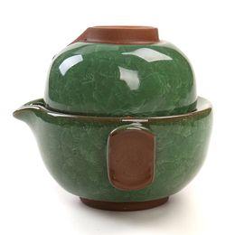 Wholesale Bone China Teapots - Paul Ceramic DrinkwareTea Sets With 1 Teapot Teacup,Elegant Easy Porcelain Kettles,Travel Tea Set,Chinese Kung Fu Tea-Set, T020B