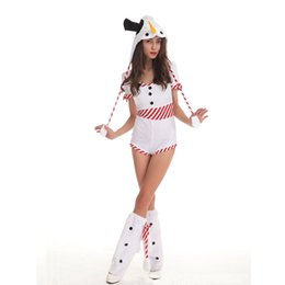 Wholesale Sexy Movies Free - 2017 White Sexy Adult Halloween Cosplay Maid Sailor Suit Hallowen Party Dress Uniform Christmas Party Stage Performance Service