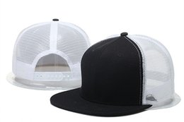 Wholesale Plain White Snapback Hats - Hot Newest Blank Plain Snapback Hats Unisex women Men's Hip-Hop adjustable bboy sports Baseball Cap sun hat colorful Fashion Accessories