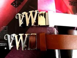 2019 cinture di marca superiore per gli uomini Nuova cintura di alta qualità VW fibbia di marca cinture di lusso cinture di lusso per gli uomini di marca fibbia del marchio con cintura di cintura uomo donna marchio genuino cinture di marca superiore per gli uomini economici