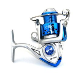 Wholesale Abs Reel - Wholesale Hot Sale 8BB 5.2:1 ABS Plastic Spinning Baitcasting Fishing Reels Carp Fishing Wheels Free Shipping