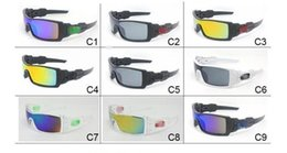 Wholesale Outdoor Cycling Sunglasses - Mens Dazzle Conjoined Outdoor Sports Cycling Sunglasses New Brand Designer OILRIG Ski Gycling Goggles 9 Colors J009