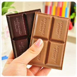 Wholesale Chocolate Comb - Mini cute Chocolate mirror makeup mirror Cosmetic Compact Mirror folding portable mirror pocket portable hand mirror with Comb Makeup Tools