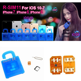 Wholesale Used Sprint - R-SIM 11 RSIM11 RSIM 11 Unlock Card for iphone 7 6s 6 5S 5 4S rsim 11 ios10 10.X 3G 4G CDMA Sprint, AU, Softbank s direct use no Rpatch