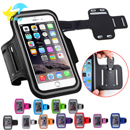 Wholesale Sporting Phone Holder - Water Resistant Cell Phone Armband case Sports Running Gym Case Waterproof Armband Holder Pounch For samsung s7 edge s8 plus iphone 6 7 8 X