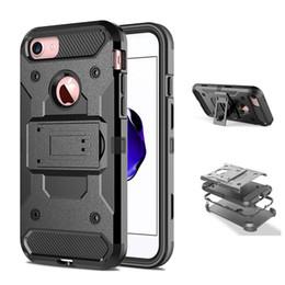 Wholesale Iphone Swivel Cases - Hybrid Case Super Slim Shell Case for Apple iphone 5 5S SE Built-In Kickstand + 360 Swivel Belt Clip Holster Full Body Hard Cover