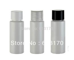 Wholesale Shampoo Women - 20ml white screw cap bottle mini small sample trial bottles travel emulsion shampoo bottle for men or women free shipping