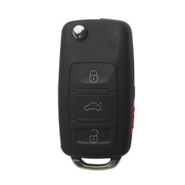 Wholesale Vw Key Shell - Remote Key Shell (3+1) Button For VW Touareg 5pcs lot