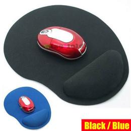 2019 tappetino per mouse per ottica spedizione gratuita all'ingrosso polso Comfort Mouse Pad Mat Mouse Mouse Pad per mouse ottico (2 colori) Mousepad mondo di carri armati scrivania tappetino per mouse per ottica economici