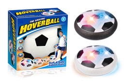 Wholesale Suspension Air - 2017 new indoor Suspension Air football Hot sale Parent-child interaction Hover ball With light Air Power Soccer Ball 15cm 6 inches C2295