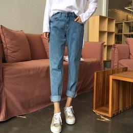 Wholesale Loose Harem Jeans Women - Autumn Winter Jeans Pants Loose Women's Harem Pants Trousers Straight Denim Jeans pants