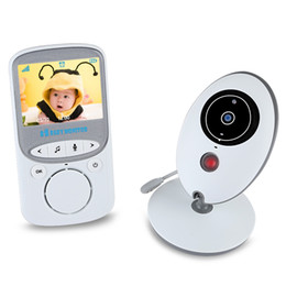 Wholesale Portable Wireless Video Camera - VB605 2.4GHz LCD Display Wireless Video Monitor for Babies Baby Camera Infant Wireles Baby Moniotr Radio Babysitter Digital Video +B