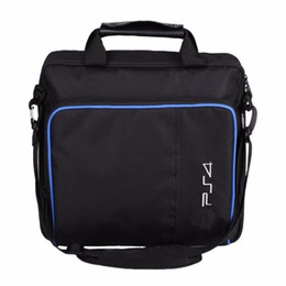 Wholesale ps4 consoles - Travel Shoulder Bag Storage Carry Case Cover Protective Bag Handbag For PlayStation 4 For PS4 Console Controller Accessories