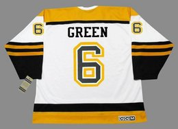 Wholesale 24 Ted - Boston Bruins Throwback 6 TED GREEN 24 TERRY O'REILLY 33 ZDENO CHARA Jersey