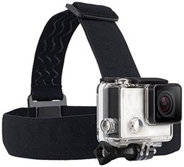 Wholesale Screw Head Camera - Wearing Headband Head Strap Band Mount with Screw for Action Sports Outdoor Camera (Camera Not Included)