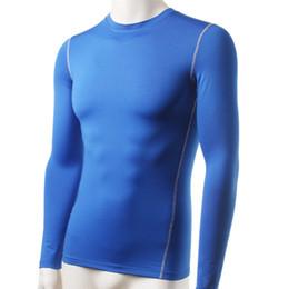 Wholesale Underwear Men S T Shirt - Wholesale- Men Plush Base Layer Thermal Underwear Long Sleeve Winter Undershirt T Shirt Tops